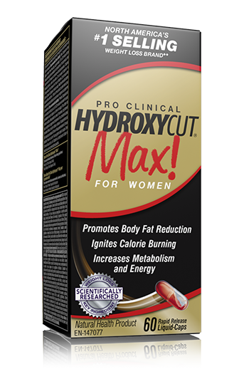 Ingredients in hydroxycut max